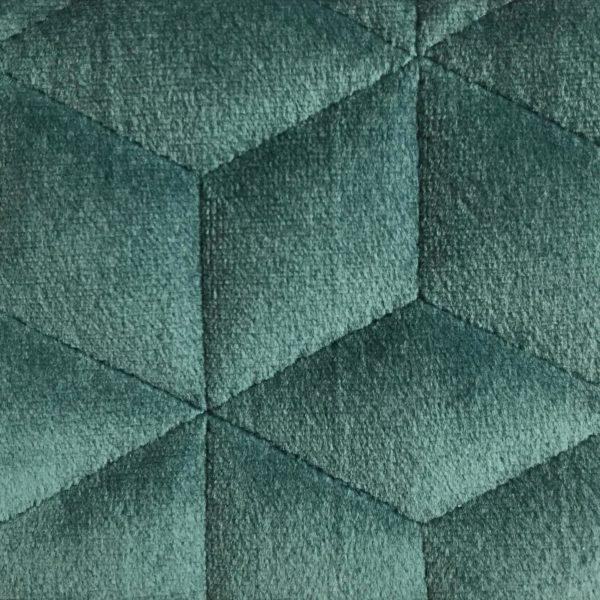 Coussin Deco Velours Polyester Brumania Bleu Vert Hotel Professionnel Linvosges Hotellerie 1