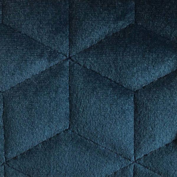 Coussin Deco Velours Polyester Brumania Indigo Hotel Professionnel Linvosges Hotellerie 1