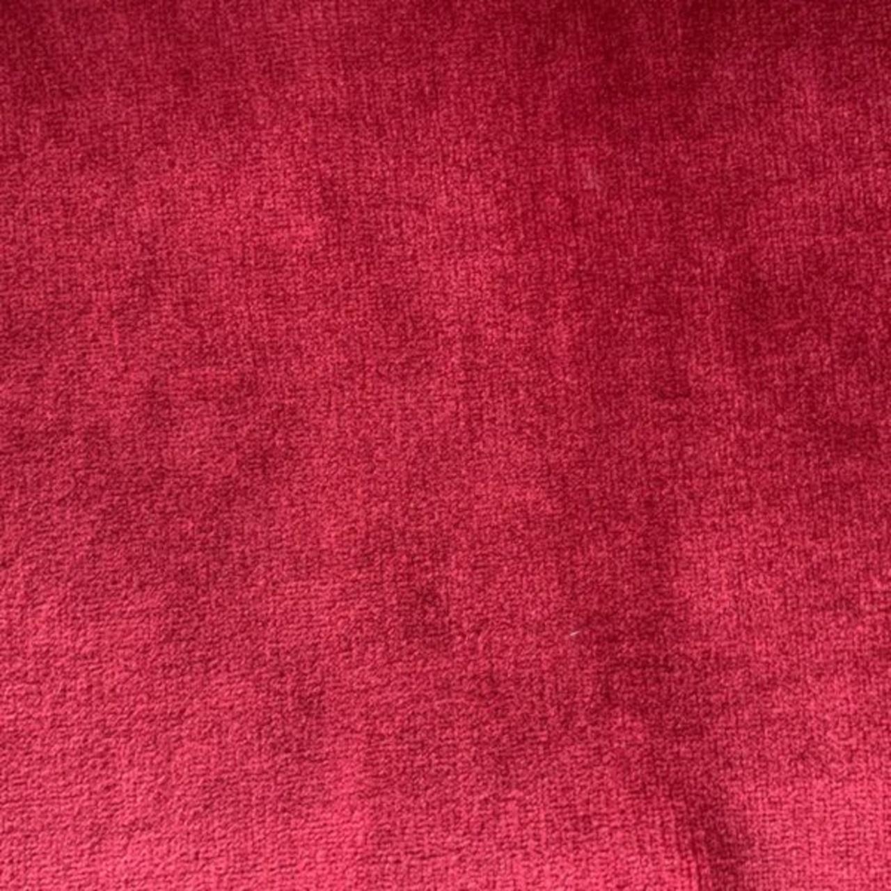 Couverture Flanelle 400grs/m² Rouge Nid Douillet