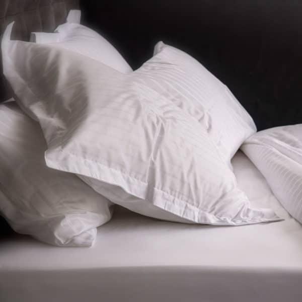 Linge De Lit Bandes Satin Come 148 Grs M2 Hotel Professionnel Linvosges Hotellerie 3