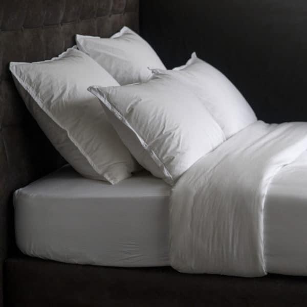 Linge De Lit Percale Lavee Faro Coton 110 Grs M2 Hotel Professionnel Linvosges Hotellerie 2