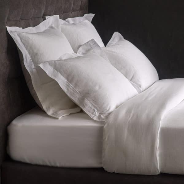 Linge De Lit Pur Fil De Lin 165 Grs M2 Blanc  Hotel Professionnel Linvosges Hotellerie 2