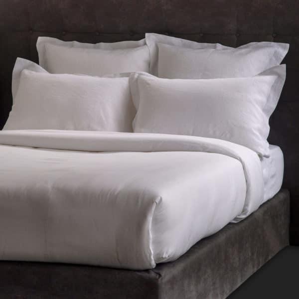 Linge De Lit Pur Fil De Lin 165 Grs M2 Blanc  Hotel Professionnel Linvosges Hotellerie
