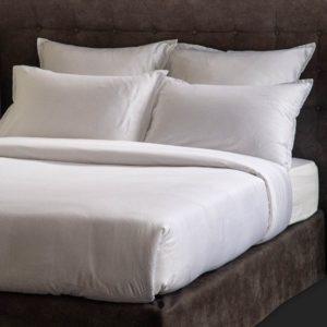 Linge De Lit Satin Jacquard Plumetis Coton 130 Grs M2 Hotel Professionnel Linvosges Hotellerie