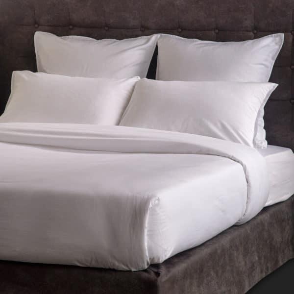 Linge De Lit Satin Lave Evora Coton 120 Grs M2 Hotel Professionnel Linvosges Hotellerie
