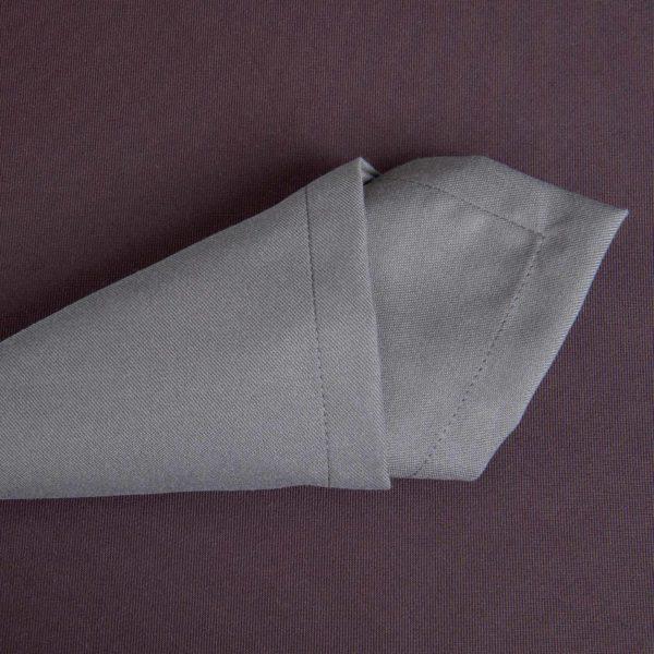 Linge De Table Baccarat Plomb Polyester 215 Grs M2 Professionnel Restaurant Linvosges Hotellerie