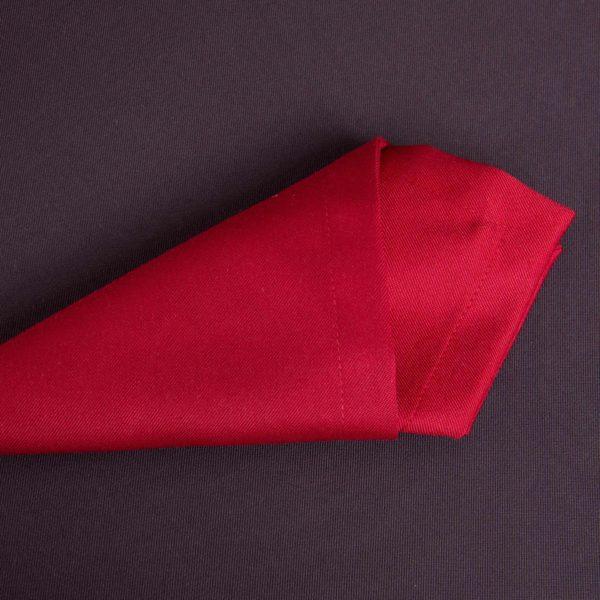 Linge De Table Baccarat Rouge Polyester 215 Grs M2 Professionnel Restaurant Linvosges Hotellerie