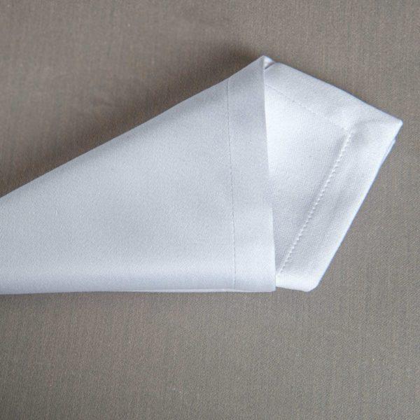 Linge De Table Carpi Blanc 50 Pour Cent Polyester 50 Pour Cent Coton 225 Grs M2 Professionnel Restaurant Linvosges Hotellerie