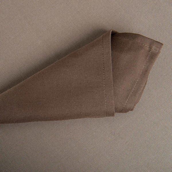 Linge De Table Carpi Chocolat 50 Pour Cent Polyester 50 Pour Cent Coton 225 Grs M2 Professionnel Restaurant Linvosges Hotellerie