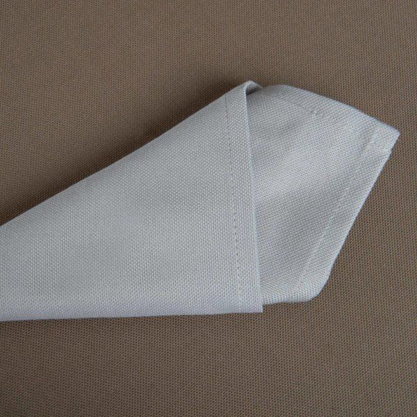 Linge De Table Carpi Gris Clair 50 Pour Cent Polyester 50 Pour Cent Coton 225 Grs M2 Professionnel Restaurant Linvosges Hotellerie