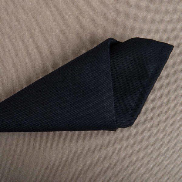 Linge De Table Carpi Noir 50 Pour Cent Polyester 50 Pour Cent Coton 225 Grs M2 Professionnel Restaurant Linvosges Hotellerie
