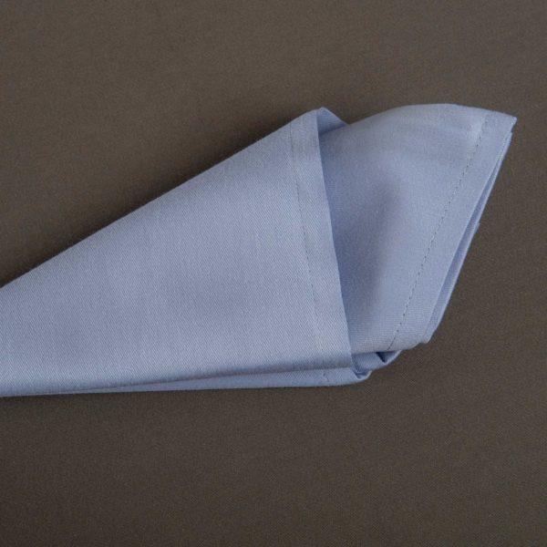 Linge De Table French Uni Light Blue Coton 215 Grs M2 Professionnel Restaurant Linvosges Hotellerie