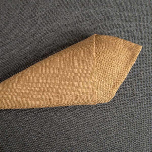 Linge De Table Hotelin Dark Flax 52 Pour Cent Lin 48 Pour Cent Coton 230 Grs M2 Professionnel Restaurant Linvosges Hotellerie