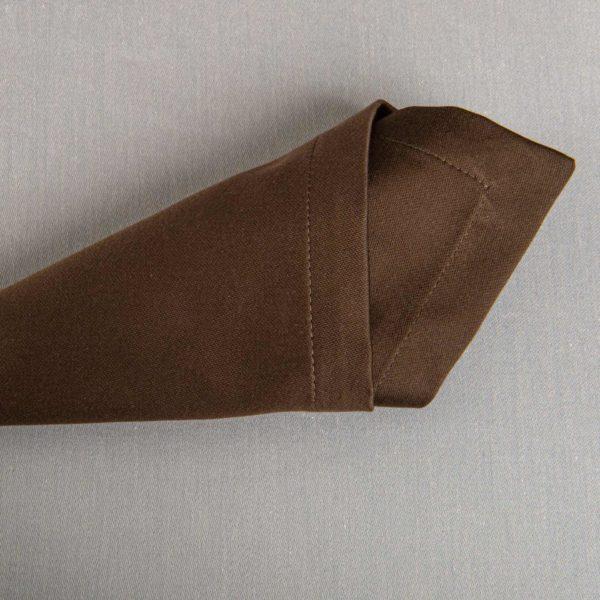 Linge De Table Monza Chocolat 50 Pour Cent Polyester 50 Pour Cent Coton 233 Grs M2 Professionnel Restaurant Linvosges Hotellerie