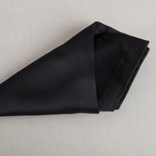 Linge De Table Monza Noir 50 Pour Cent Polyester 50 Pour Cent Coton 233 Grs M2 Professionnel Restaurant Linvosges Hotellerie