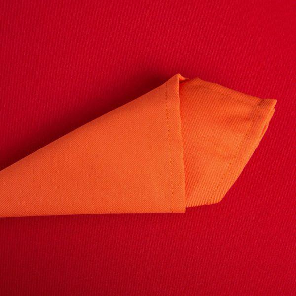 Linge De Table Rainbow Orange Polyester 203 Grs M2 Professionnel Restaurant Linvosges Hotellerie