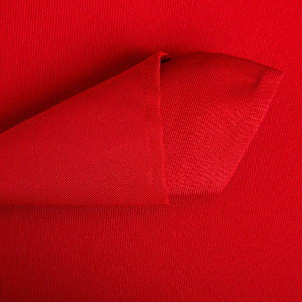 Linge De Table Rainbow Rouge Polyester 203 Grs M2 Professionnel Restaurant Linvosges Hotellerie