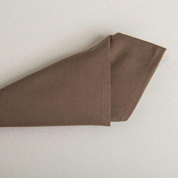 Linge De Table Ribes Chocolat 51 Pour Cent Coton 49 Pour Cent Polyester 280 Grs M2 Professionnel Restaurant Linvosges Hotellerie