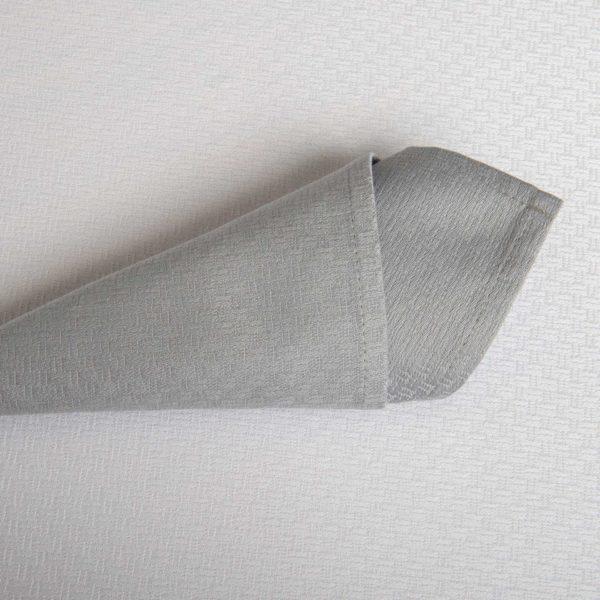 Linge De Table Tribeca Gris Perle 52 Pour Cent Polyester 48 Pour Cent Coton 240 Grs M2 Professionnel Restaurant Linvosges Hotellerie