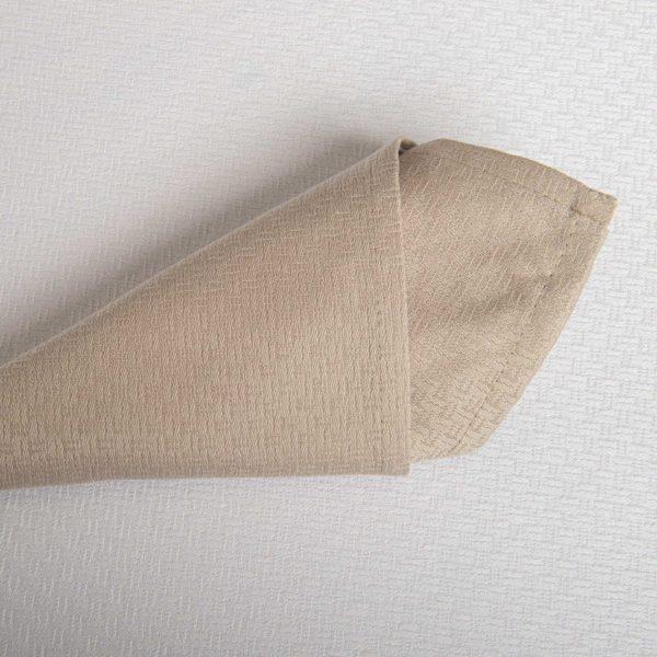 Linge De Table Tribeca Sable 52 Pour Cent Polyester 48 Pour Cent Coton 240 Grs M2 Professionnel Restaurant Linvosges Hotellerie