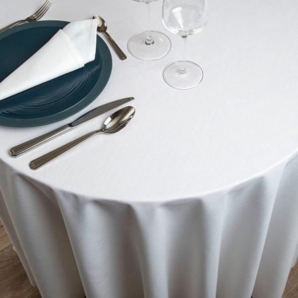 Nappe Ronde Bari Polyester 215 Grs M2 Professionnel Restaurant Linvosges Hotellerie 1