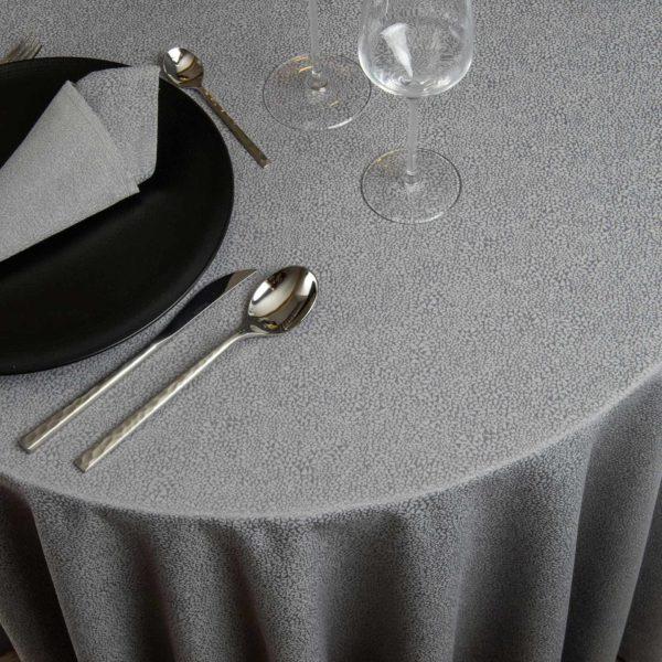 Nappe Ronde Barletta 59 Pour Cent Polyester 41 Pour Cent Coton 283 Grs M2 Professionnel Restaurant Linvosges Hotellerie