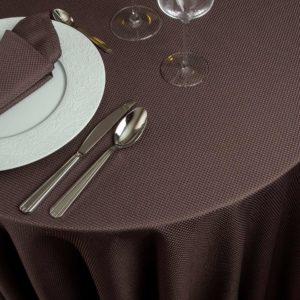 Nappe Ronde Catane Polyester 290 Grs M2 Professionnel Restaurant Linvosges Hotellerie 2