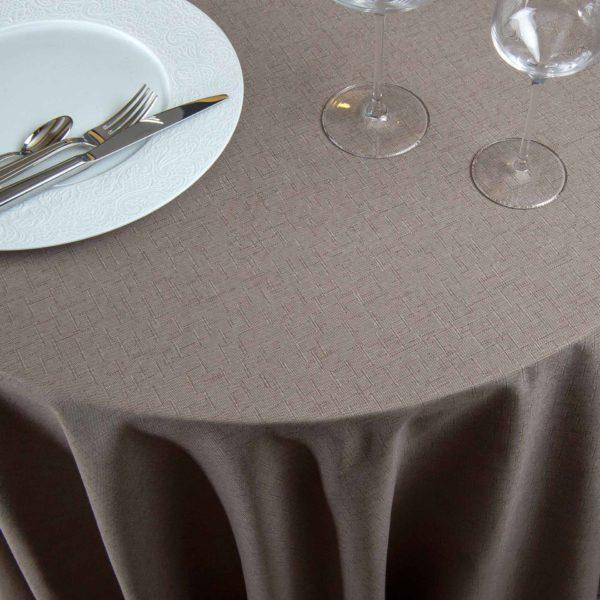 Nappe Ronde Dolce Coton Coton 220 Grs M2 Professionnel Restaurant Linvosges Hotellerie 2