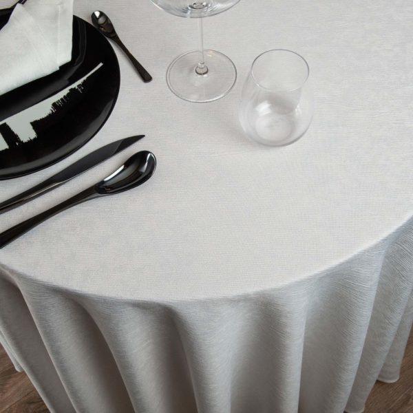 Nappe Ronde Easy Polyester 250 Grs M2 Professionnel Restaurant Linvosges Hotellerie 2