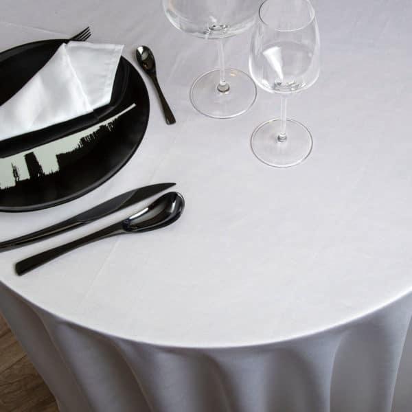 Nappe Ronde Ginepro 60 Pour Cent Coton 40 Pour Cent Lin 215 Grs M2 Professionnel Restaurant Linvosges Hotellerie 2