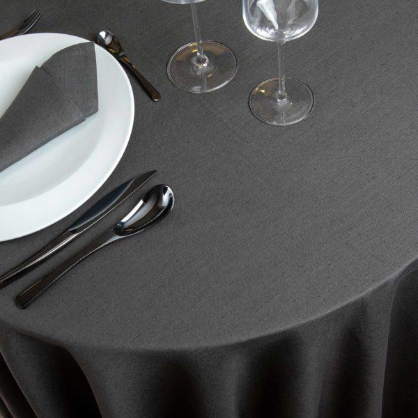 Nappe Ronde Hotelin 52 Pour Cent Lin 48 Pour Cent Coton 230 Grs M2 Professionnel Restaurant Linvosges Hotellerie 2