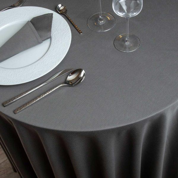 Nappe Ronde Kalahari Coton 220 Grs M2 Professionnel Restaurant Linvosges Hotellerie 2