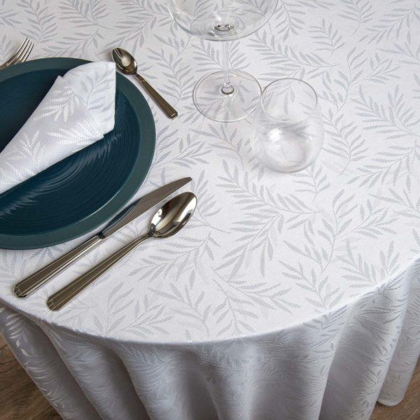 Nappe Ronde Padoue 70 Pour Cent Polyester 30 Pour Cent Coton 230 Grs M2 Professionnel Restaurant Linvosges Hotellerie 2