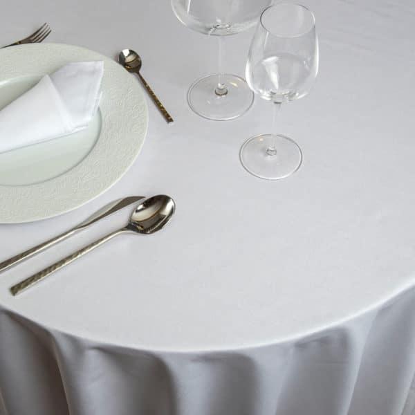 Nappe Ronde Unido Coton 230 Grs M2 Professionnel Restaurant Linvosges Hotellerie