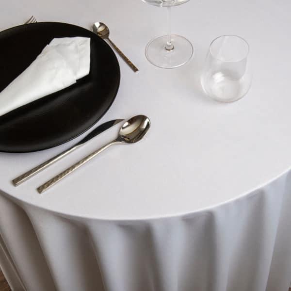 Nappe Ronde Vincennes Polyester 249 Grs M2 Professionnel Restaurant Linvosges Hotellerie