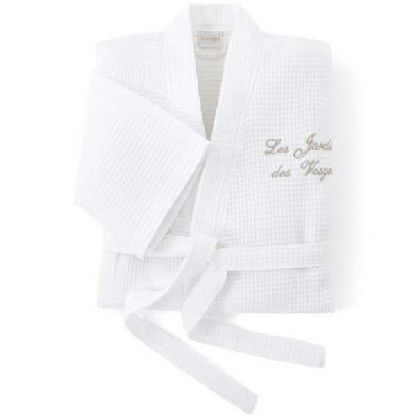 Peignoir Kimono Spa Nid D Abeille 200 Grs M2 Hotel Professionnel Linvosges Hotellerie