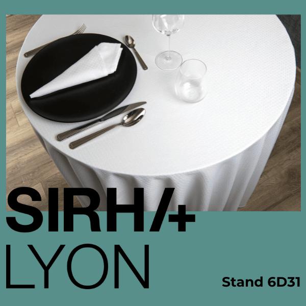 LINGE DE TABLE SIRHA LYON